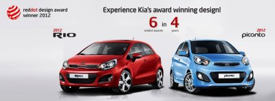 kia all new picanto red dot award 2012
