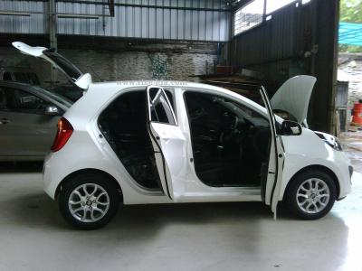 new kia picanto city car modern