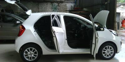 new kia picanto city car modern